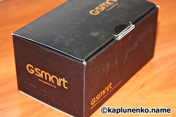 Gsmart G1342 – внешний вид коробки