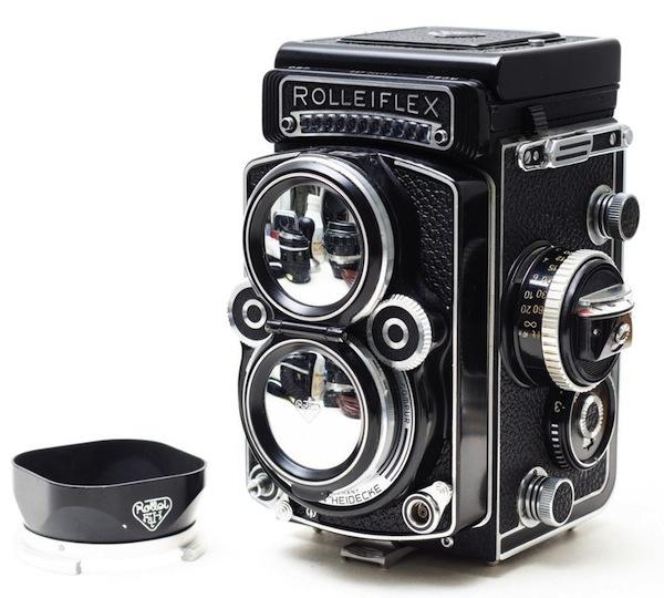 Rolleiflex - самая правильная и самая дорогая TLR родом из Германии